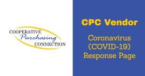 CPC Vendor COVID-19 Response Page